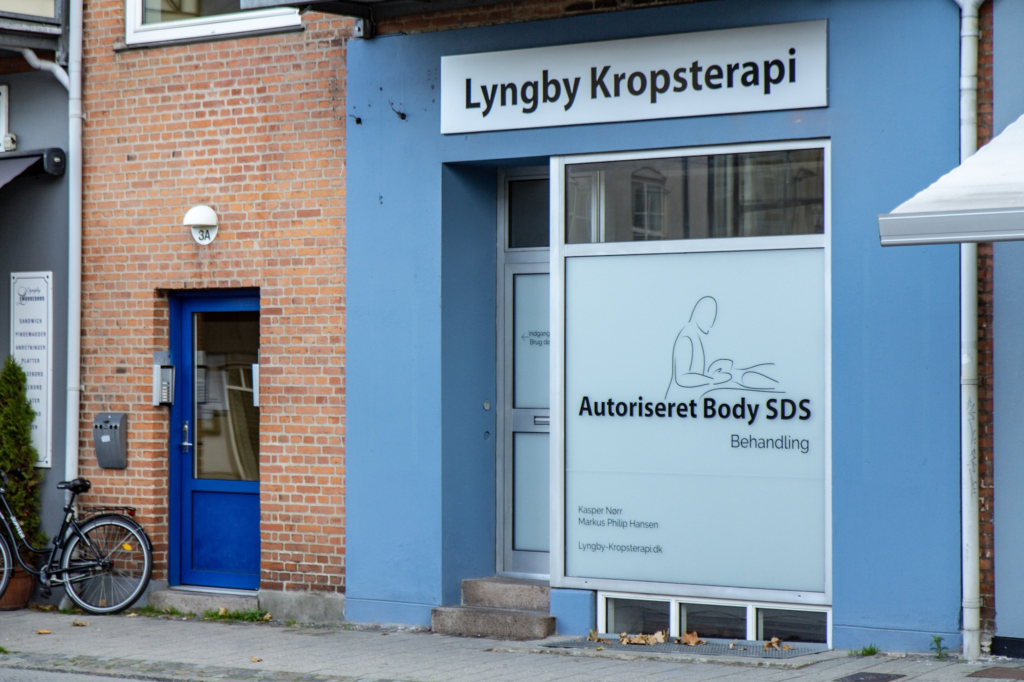 Lyngby Kropsterapi Facade